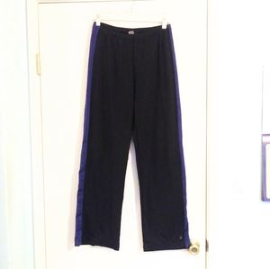 Lucy Black and Violet Athletic Sweats w/ Stripes